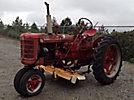 1953 International /Harvester Farmall Super C Rubber Tired Tractor