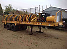 1967 Hydra-Pull Corp. PLW5, 5-Drum Pilot Line Winder, s/n 204, JD diesel, trailer mtd, with pulling rope & hyd level wind (Reads 25 Hours)