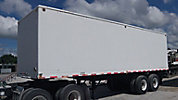 1974 Leithiser ERT Enclosed Chain Driven Reel Trailer, s/n 918741468, with (4) chain driven tensioners/reel stands.