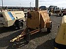 1976 Ingersoll Rand P185BWJD Portable Air Compressor, trailer mtd