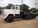 1980 AM General M920 8x6 Flatbed Truck
