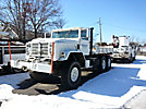 1983 AMG Military 6x6 Flatbed Truck, 8 cyl, 5 spd