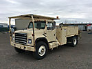 1986 International S1954 Flatbed/Utility Truck