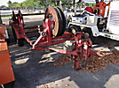 1986 TSE 2102A Bull Wheel Tensioner/Reel Carrier Trailer, 10th Digit Reads 2001, Title States 1986