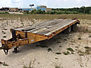 1987 Belshe 9-Ton T/A Tagalong Equipment Trailer