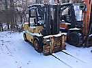 1987 Hyster Solid Tired Forklift