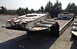 1987 Talbert T3D-50.5-HRG-RA-T1 50-Ton T/A Gooseneck Equipment trailer