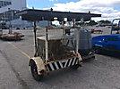 1988 Amida DLB25-PACH-DL106 Portable Light Tower, trailer mtd