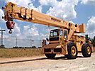 1988 Broderson RT300-2B, 15-Ton 4x4 Rough Terrain Crane, s/n 20209, Cummins 5.9L diesel, 6 spd, with 71' of 3 section hyd boom, 20' swing away jib, heel winch, 4 hyd outriggers & EROPS (Reads 2979 Hours)