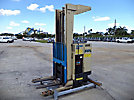 1988 Crown 40STL-5, 4,000# Stand-Up Stacker Forklift, s/n H14781-4, battery powered