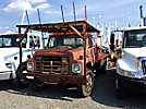 1988 International S1954 Flatbed Truck,