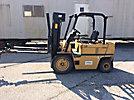 1990 Caterpillar 50D Cushion Tired Forklift