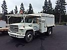 1990 Ford F700 Chipper Dump Truck