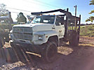 1990 Ford F800 Flatbed Truck