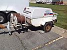 1990 Grimmer Schmidt 125 cfm Portable Air Compressor, trailer mtd