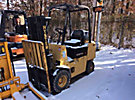 1990 Hyster Solid Tired Forklift