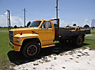 1991 Ford F600 Flatbed Truck
