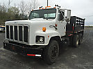 1991 International 2674 T/A Flatbed Truck