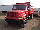 1991 International 4700 Dump Chipper Truck