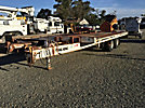 1991 Trail King TKT40LP-2400, 20-Ton T/A Tilt Top Tagalong Equipment Trailer