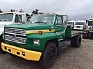 1992 Ford F600 Flatbed Truck