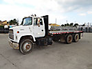 1992 Ford L9000 T/A Flatbed Truck
