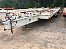 1992 Hudson 20 Ton T/A Tagalong Flatbed Trailer