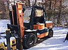 1992 Toyota Cushion Tired Forklift
