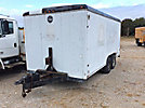 1992 Wells Cargo 16' T/A Enclosed Utility Trailer