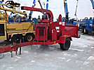 1993 Brush Bandit 250 Chipper (12 Disc), trailer mtd