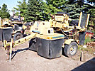 1993 Vermeer 665B Stump Grinder, trailer mtd