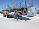 1995 Fruehauf PBH-F2W-40N T/A High Flatbed Trailer