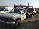 1995 GMC K3500 4x4 Flatbed Truck