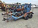 1995 Thompson 10VD Concrete/Water Pump, s/n 10V-022, skid mtd