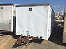 1995 Wells Cargo CW162 T/A Enclosed Utility Trailer