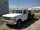 1996 Ford F350 Flatbed Truck