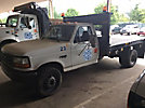 1996 Ford F450 Flatbed Truck