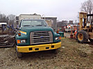 1996 Ford F800 Flatbed Truck
