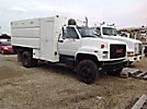1996 GMC Topkick Chipper Dump Truck
