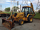 1996 John Deere 310D 4x4 Tractor Loader Extendahoe