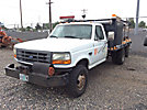 1997 Ford F350 4x4 Flatbed Truck