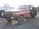 1997 Ford F350 4x4 Flatbed/Spray Truck