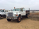 1997 Ford F800 Flatbed Truck