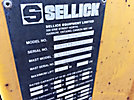 1997 Sellick TMF55 3-Wheel Rough Terrain Forklift, s/n TMF55DDS301770555, diesel, with flatbed mounting system