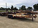 1997 Towmaster T6DD 3-Ton T/A Tagalong Trailer, with 14' level deck between wheels