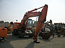 1998 Daewoo DH200W Rubber Tired Hydraulic Excavator