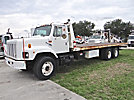 1998 International 2654 T/A Flatbed Truck