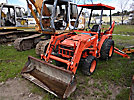1998 Kubota L35 4x4 Mini Tractor Loader Backhoe