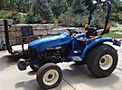 1998 New Holland/Ford Utility Tractor, 4X4 Model 1925