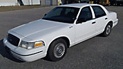 1999 Ford Crown Victoria 4-Door Sedan, former police car